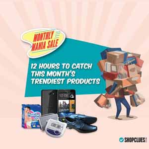 Shopclues-Monthly-Shopping-Mania