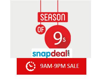 snapdeals-9am-9pm-Sale