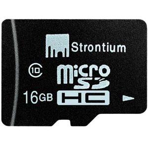 Strontium 16GB Micro SD Card Retail-Class 10