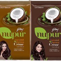 Godrej Nupur Coconut Henna Creme Hair Colour