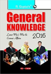 General Knowledge 2016 Book