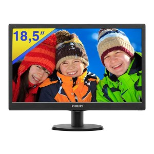 Philips 193V5L 18.5 inch LED Monitor