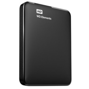 WD Elements Portable 1TB USB 3.0 External Hard Drive (Black)