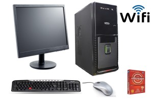 Desktop Core 2 Duo with 15lcd /160 gb ddr2 2GB/ keyboard, Mouse