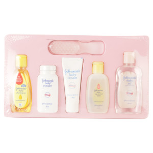 Johnsons Set Of 6 Pieces Baby Care Gift Set