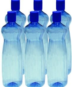 Princeware Aster Pet Fridge Bottle Set, 975ml, Set of 6