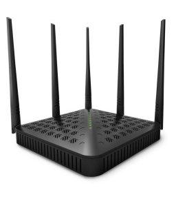 Tenda Wireless Ac1200 Dual Band Gigabit High Power Router With 5 Outdoor Antenna