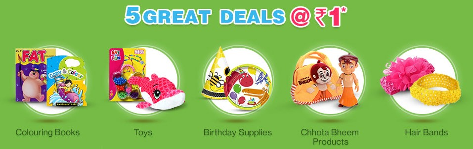 5 Great Deals Firstcry