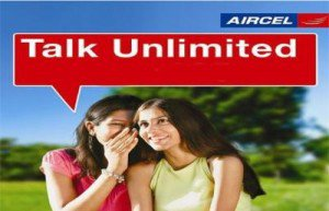 Aircel to Aircel Unlimited Local Calls