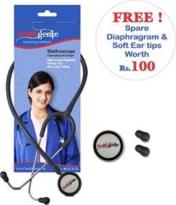 Healthgenie Dual Aluminum Non Chill Stethoscope