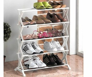5 Tier Portable Foldable Shoe Rack
