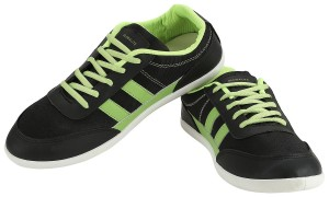 GlobaLite Men's Casual Shoes Cruze Black Lime