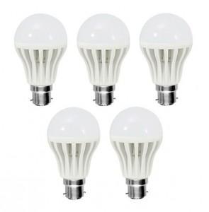 12 Watt LED Bulb Combo Of 5 Pieces