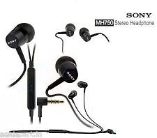 Sony MH-750 STEREO HEADSET WITH MIC 3.5 MM JACK