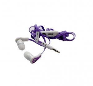GND Flatwire Handsfree with Mic - Assorted