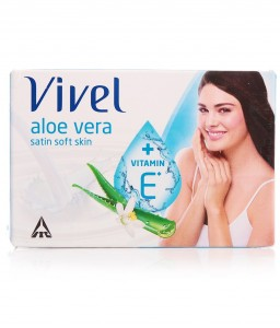 Vivel Aloe Vera Satin Soft Soap 100 g