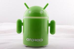 Android Robot Shape Sound Box Speaker