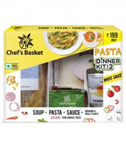 Chef's Basket White Sauce Pasta and Soup Dinner Kit for 2 - Get Movie Voucher worth Rs. 200 Free Chef's Basket White Sauce Pasta and Soup Dinner Kit for 2 - Get Movie Voucher worth Rs. 200 Free Chef's Basket White Sauce Pasta and Soup Dinner Kit for 2 - Get Movie Voucher worth Rs. 200 Free Chef's Basket White Sauce Pasta and Soup Dinner Kit for 2 - Get Movie Voucher worth Rs. 200 Free Chef's Basket White Sauce Pasta and Soup Dinner Kit for 2 - Get Movie Voucher worth Rs. 200 Free Chef's Basket White Sauce Pasta and Soup Dinner Kit for 2