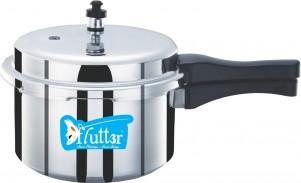 Flutter Silver Aluminium Pressure Cooker 3 Ltr - Outer Lid