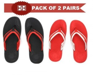 Nexa Eva Flip Flops (Pack of 2)