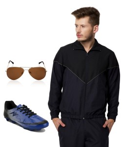 Yepme Combo pack of TrackSuit & Football Shoe & Sunglass