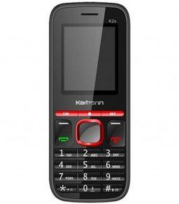 Karbonn K2S Black-Red Mobile