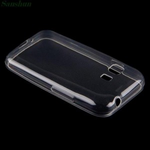 Transparent Back Case Cover for Samsung Galaxy Young 2 G130H