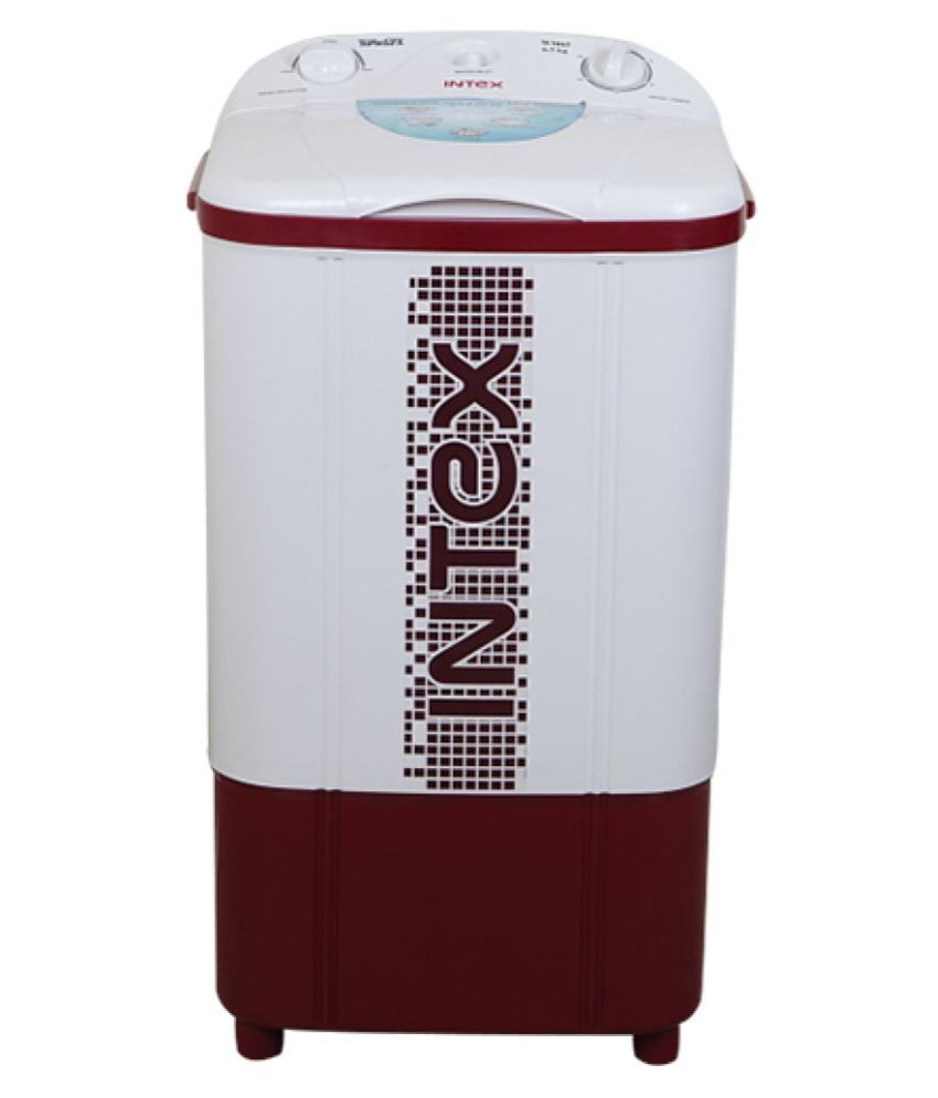 Intex 6.5 Kg WM65 Semi Automatic Washing Machine - Washer Only