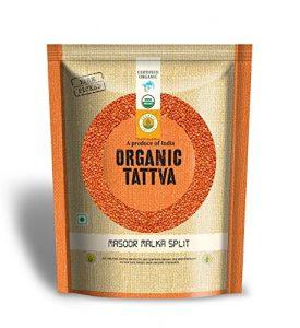 Organic Tattva Masoor Malka Split, 500g